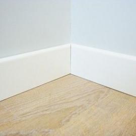 Plinthes MDF Blanche à peindre 12x80